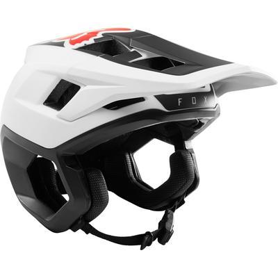 FOX DropFrame Helmet White/Black - M - 2