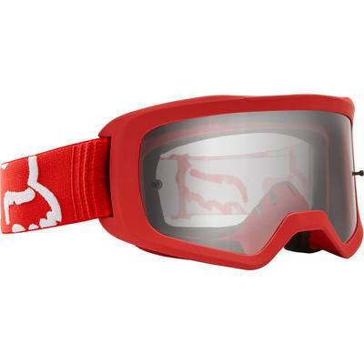 FOX Brýle Main II Race Goggle OS Red - 2