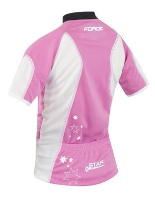 FORCE - dres dětský KID STAR růžový - 2