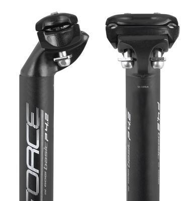 FORCE - Sedlovka BASIC P4.2 25,0/400mm, matná černá - 3
