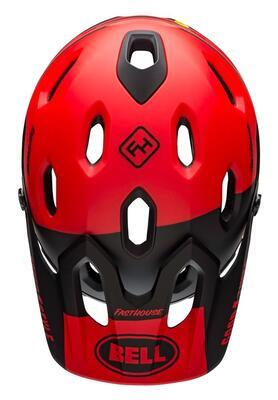 BELL Super DH Spherical Mat/Glos Red M - 3