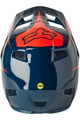 FOX Rampage Comp Repeat Helmet Ce Cpsc Dark/Indigo - M - 4