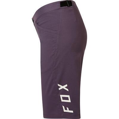 FOX Womens Ranger Short Purple/Orange logo - 4
