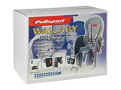 POLISPORT - Dětská sedačka Wallaby Deluxe - 4
