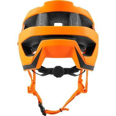 FOX Flux Helmet Rush Atomic Orange - 4