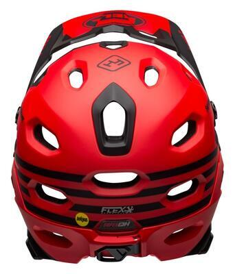 BELL Super DH Spherical Mat/Glos Red M - 4
