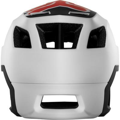 FOX DropFrame Helmet White/Black - M - 4