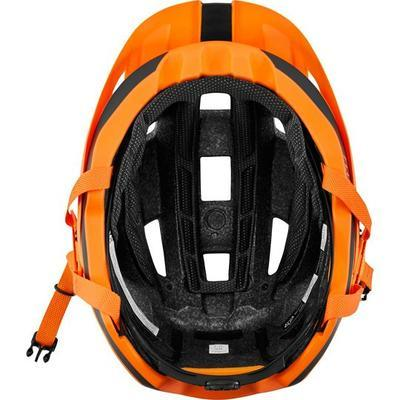 FOX Flux Helmet Rush Atomic Orange - 6