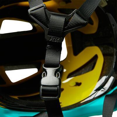 FOX Speedframe Helmet Ce MIPS - Turquoise - S - 6