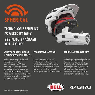 BELL Super DH Spherical Mat/Glos Black L, L - 7