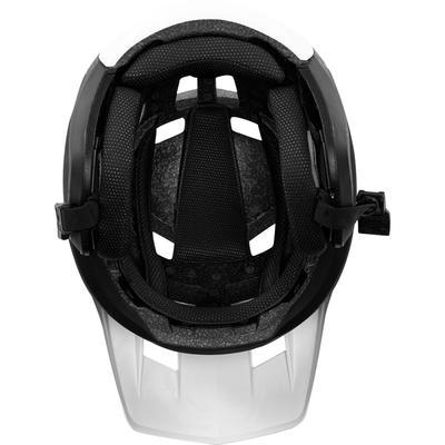 FOX DropFrame Helmet White/Black - M - 7